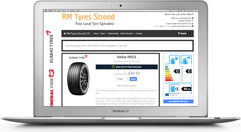 RM Tyres Strood